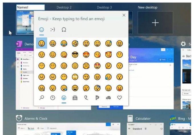 Windows 10 Insider Preview - Escritorios Virtuales