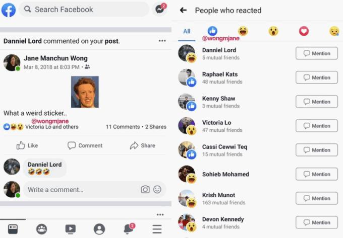 Facebook - Likes ocultos