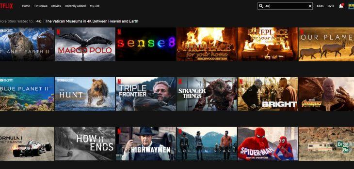 Netflix - 4K