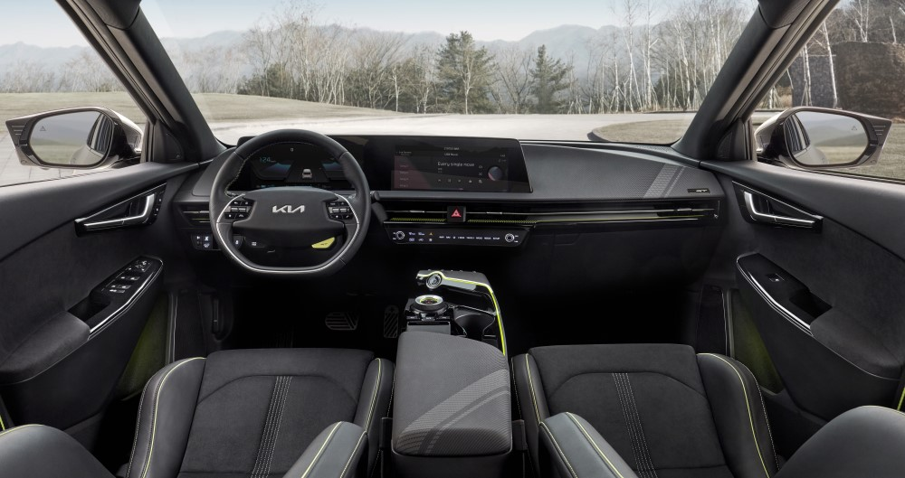 Kia EV6 GT Interior