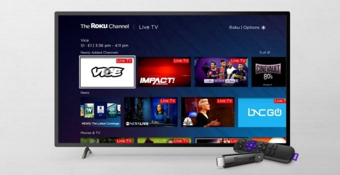 Canal Roku - Canales de TV Lineal