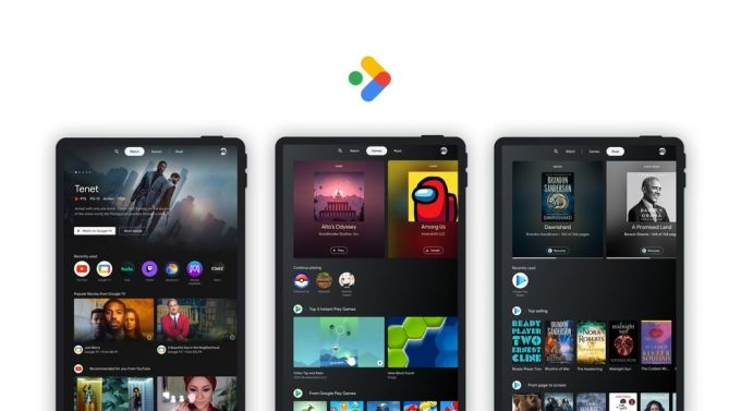 Google - Espacio de Entretenimientos - Tabletas Android