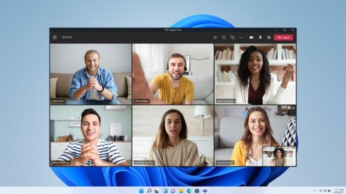 Microsoft Windows 11 - Teams Chat