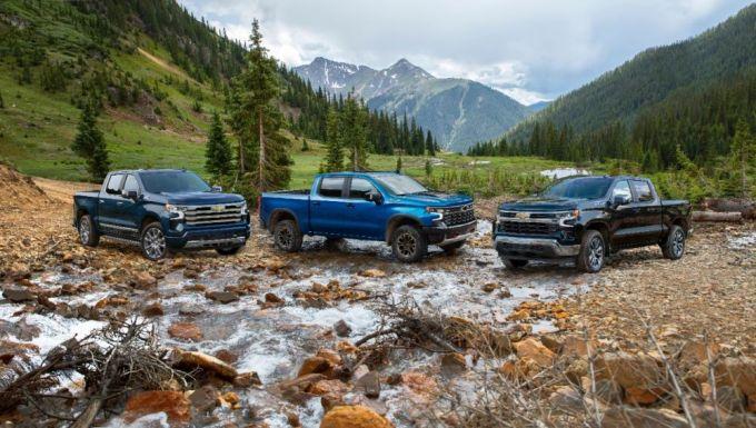 2022 Chevy Silverado High Country - ZR2 y LT