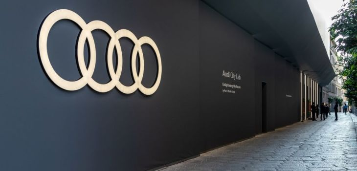 Semana de Diseño de Milán - Audi City Lab