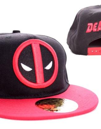 Deadpool sapka (fekete)