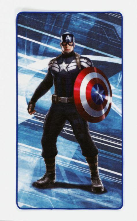 Captain America Carpet Captain America 67 x 125 cm