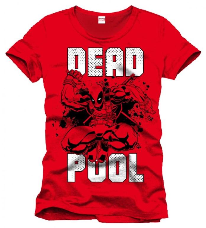 Deadpool T-Shirt Jump