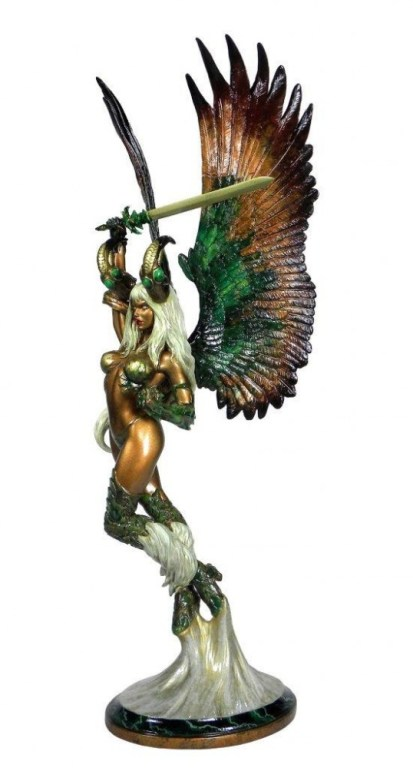 The Darkness Faux Bronze Statue 1/6 The Angelus 53 cm