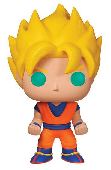 Dragonball Z POP! Vinyl Figure Super Saiyan Goku 10 cm