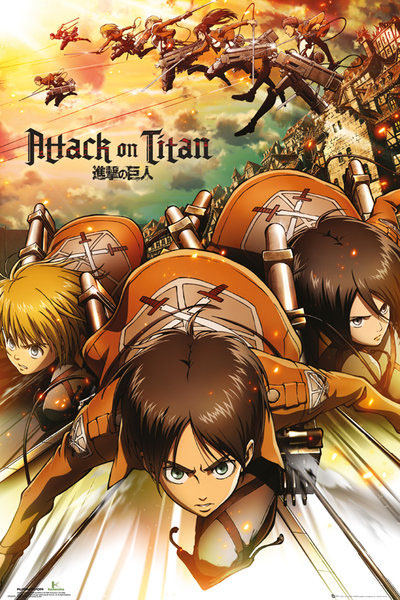 Attack on Titan Poster Pack Attack 61 x 91 cm