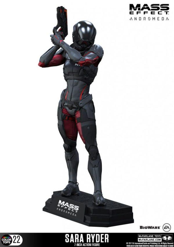 Mass Effect Andromeda - Sara Ryder Color Tops akciófigura