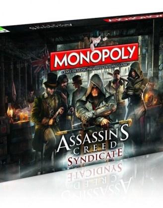 Assassin's Creed Syndicate Monopoly (angol nyelvű változat)