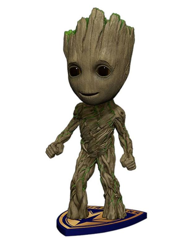 x_neca38716 Guardians of the Galaxy Vol. 2 Head Knocker Bobble-Head Groot 18 cm
