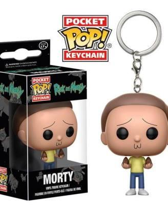 Rick and Morty Funko Pocket POP! kulcstartó - Morty