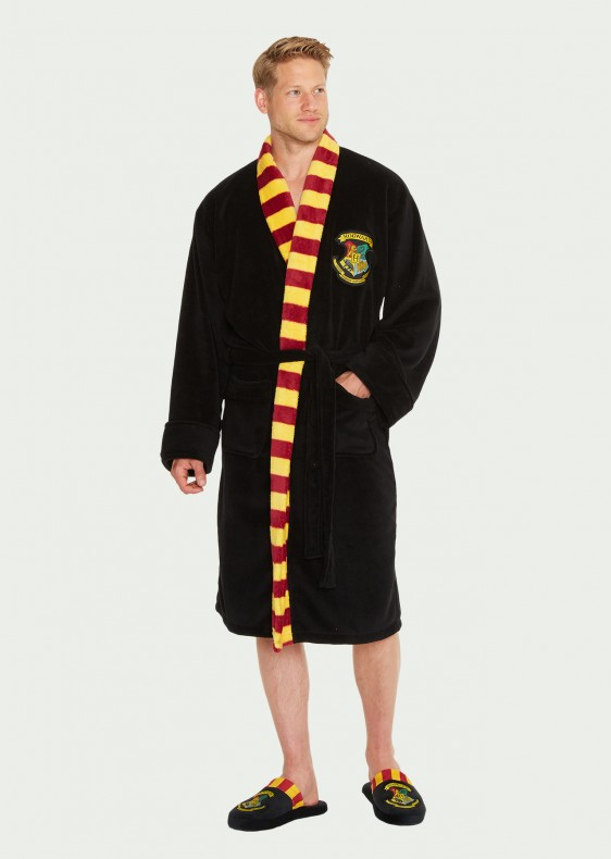Hogwarts-Mens-Bathrobe_front_Harry Potter köntös - Hogwarts (Roxfort)