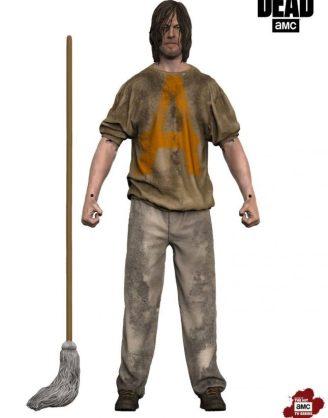 The Walking Dead akciófigura - Savior Prisoner Daryl (18cm)