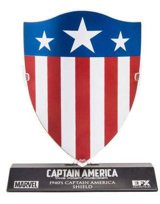 Marvel's Captain America Replica - 1/6 Captain America's 1940's Shield LC. Excl. (10cm)