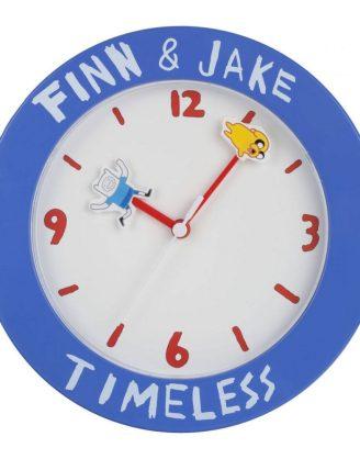x_zltdadt6 Adventure Time Wall Clock Finn & Jake