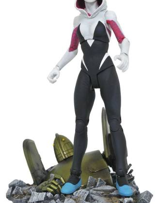 x_diammay172533 Marvel Select Action Figure Spider-Gwen 17 cm