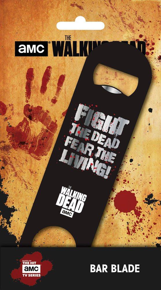 x_gye-bar0003 Walking Dead Bar Blade / Bottle Opener Fear the Living 12 cm