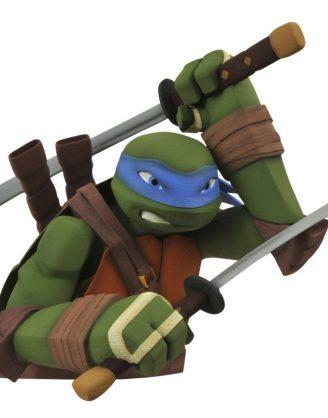 x_diamapr141973 Teenage Mutant Ninja Turtles Bust Bank Leonardo 20 cm