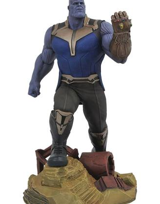 x_diamapr182161 Avengers Infinity War Marvel Gallery PVC Statue Thanos 23 cm