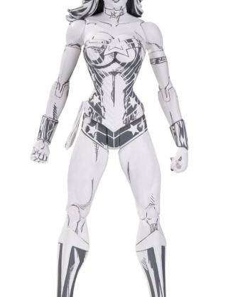 x_dccnov160376 DC Comics BlueLine Edition Action Figure Wonder Woman by Jim Lee 17 cm
