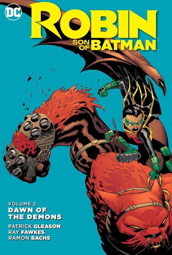 x_dcmay160318 DC Comics Comic Book Robin Son Of Batman Vol. 2 Dawn Od The Demons by Patrick Gleason english
