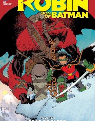 x_dcnov150267 DC Comics Comic Book Robin Son Of Batman Vol. 1 Year Of Blood by Patrick Gleason english