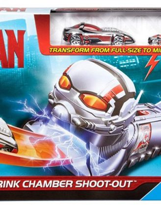 Marvel Hot Wheels - Ant-Man Shrink Chamber Shoot-Out Track Set
