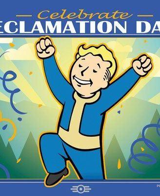 x_gye-falloutbin_b Fallout 76 poszter – Reclamation Day