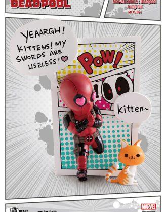 x_bkdmea-0046 Marvel Comics Mini Egg Attack Figura - Deadpool Jump Out 4th Wall 12 cm