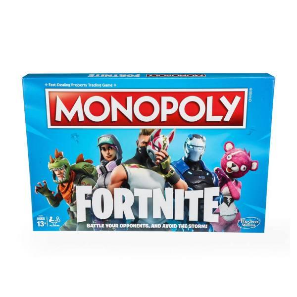 x_hase6603102 Fortnite Monopoly *English Version* (angol nyelvű változat)
