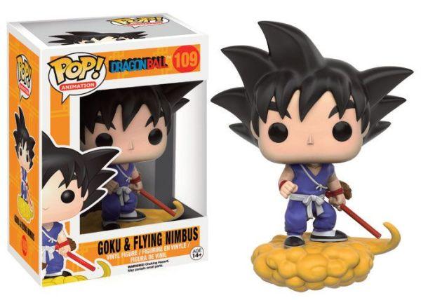 x_fk7427 Dragon Ball Z Funko POP! Figura - Goku and Flying Nimbus 9 cm