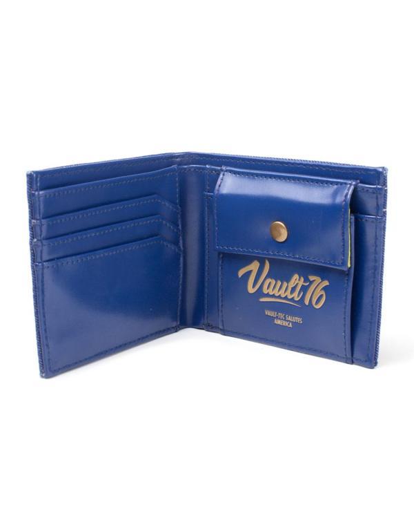 x_mw060533fal Fallout Vault 76 - Vintage Denim pénztárca