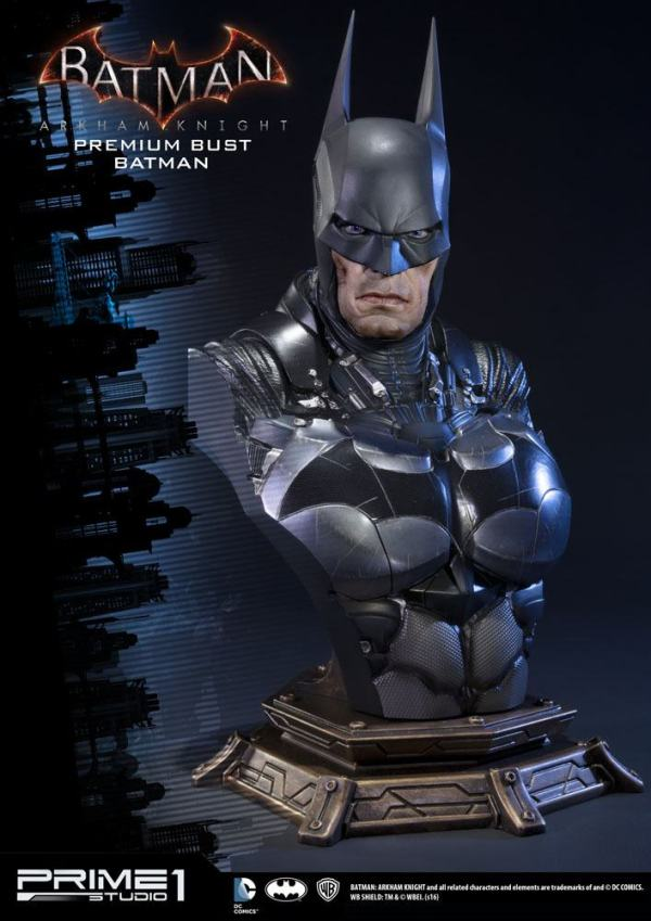 x_p1spbdc-01_g Prime1 Batman Arkham Knight Premium Bust - Batman 26 cm