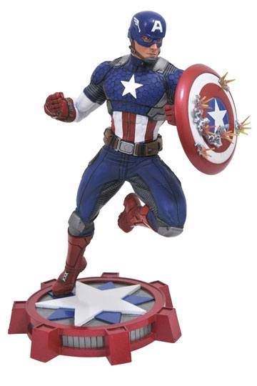 d_diamaug172640 Marvel NOW! Marvel Gallery PVC Szobor - Captain America 23 cm