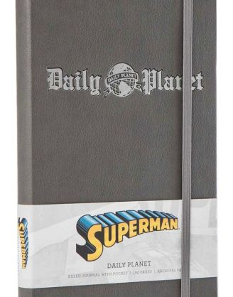 x_isc83044 DC Comics Superman Jegyzetfüzet - Hardcover Ruled Journal Daily Planet