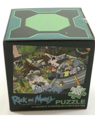 x_ram-0001 x_ram-0001_a Rick and Morty - Puzzle LC Exclusive 300 db-os