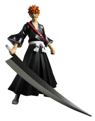 x_tona11690 Bleach Action Figure Ichigo Kurosaki 15 cm