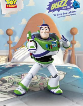 x_bkddah-015_a Toy Story Dynamic 8ction Heroes Akciófigura - Buzz Lightyear 18 cm