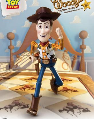 x_bkddah-016 Toy Story Dynamic 8ction Heroes Akciófigura - Woody 20 cm
