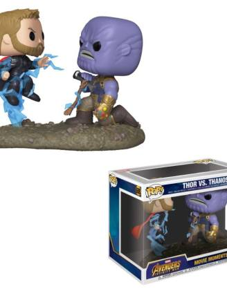 x_fk35799 Marvel Funko POP! Movie Moments Figura 2-Pack - Thor & Thanos 9 cm