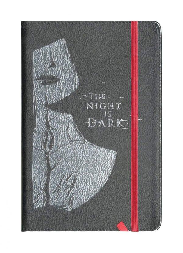 x_lc116snx Game of Thrones Jegyzetfüzet - The Night Is Dark LC Exclusive