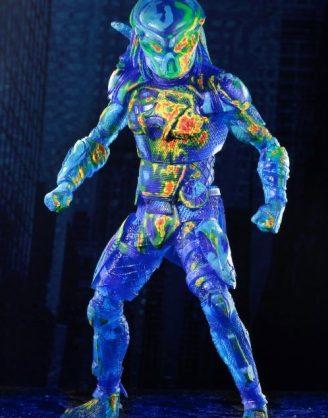 x_neca51578 Predator 2018 Akciófigura - Thermal Vision Fugitive Predator 20 cm