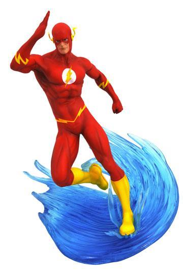 d_diamdec182503 DC Comic Gallery PVC Szobor - The Flash 23 cm