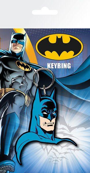 x_gye-kr0010 DC Comics kulcstartó – Batman Face 7 cm