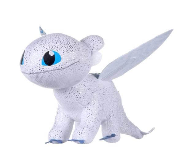 x_joy12434 How to Train Your Dragon 3 Plush Figure Light Fury Glow In The Dark 32 cm