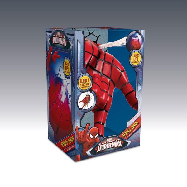 x_3dl75194 Marvel Comics 3D LED világítás Spider-Man Karja